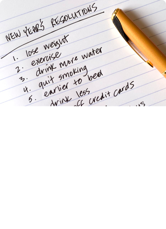Tips For Planning Your New Year's Resolutions